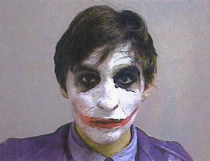 Mugshot of The Joker After Arrest in MI