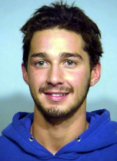 Shia LaBeouf Mugshot from Previous Arrest