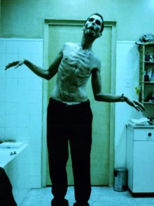 Christian Bale seen here in The Machinist