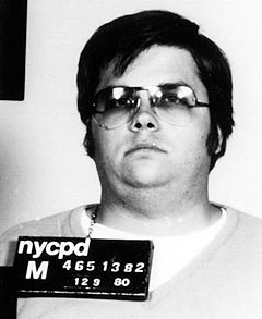 Mark David Chapman's Mugshot