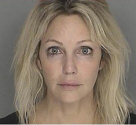 Heather Locklear's Mugshot