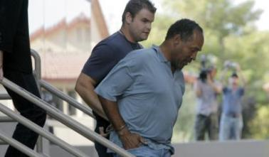 OJ Simpson Was Arrested Sept. 17 2007