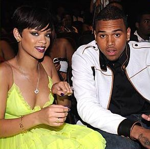 Chirs Brown and Rihanna in happier times